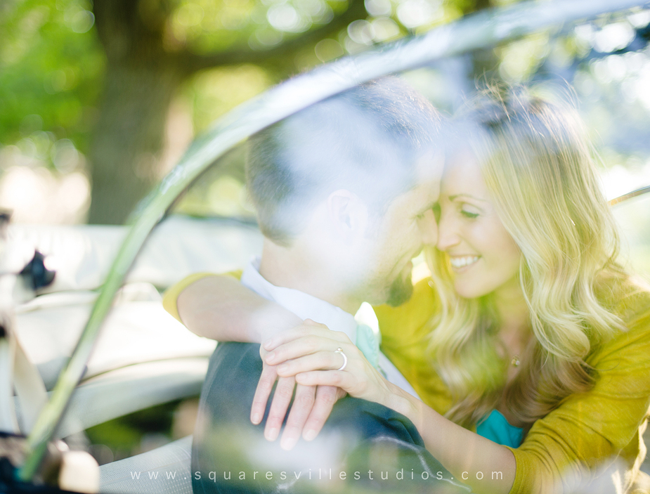romantic engagement portraits in dallas texas