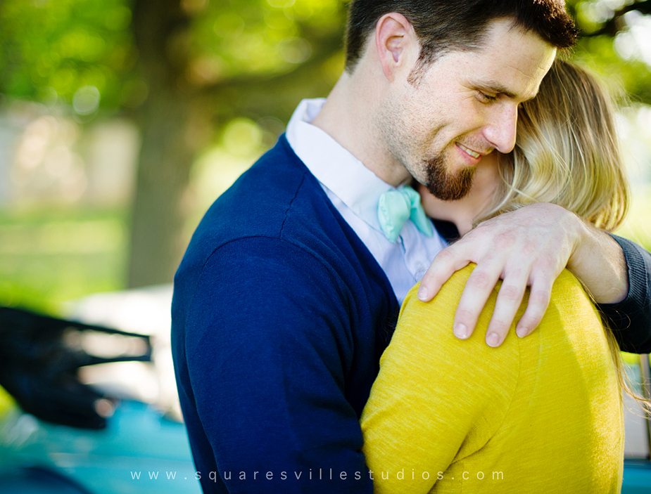 dallas engagement portrait