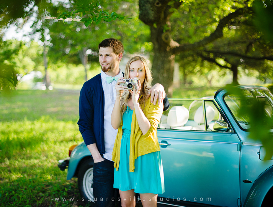 german engagement session