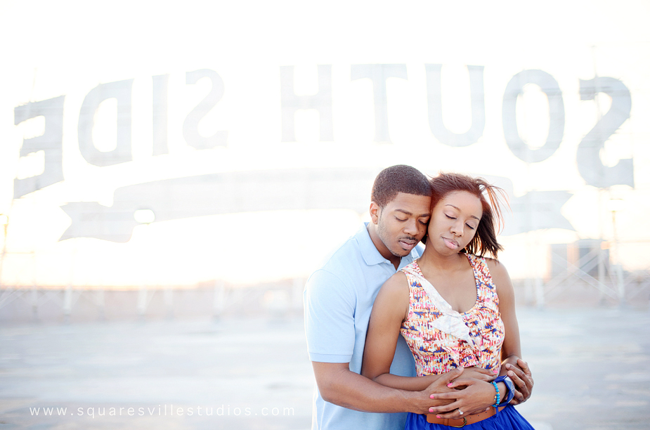 southside on lamar engagement session