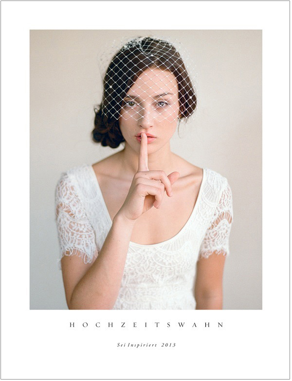 "Sei Inspiriert | German Wedding Inspiration Book by Hochzeitswahn | Cover Elizabeth Messina"" title=""Hochzeitswahn Cover"