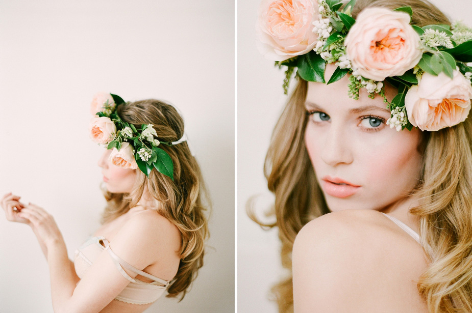 ethereal boudoir session by Squaresville Studios