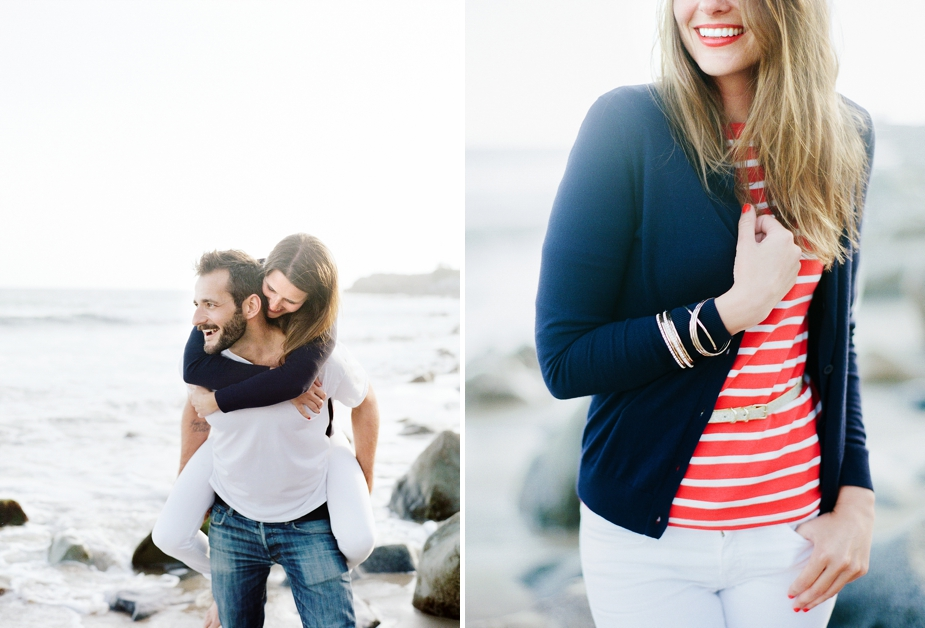 Santa Monica Engagement Session by Squaresville Studios