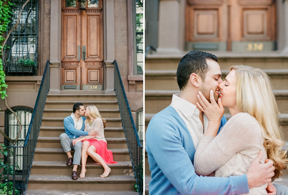 New York West Village Film Engagement Session | by Squaresville Studios