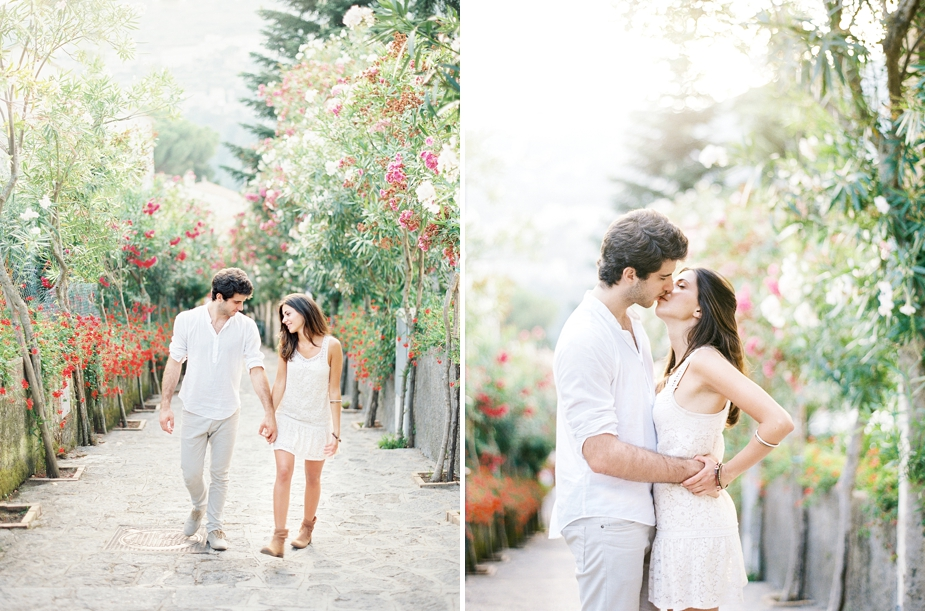 romantic engagement session in Ravello Italy | by Squaresville Studios